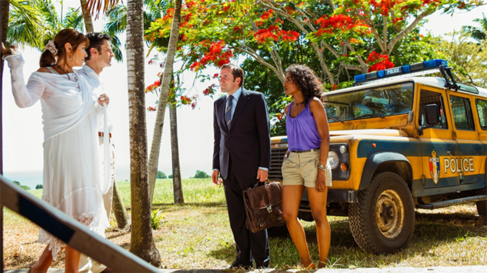 Death in paradise : Death in Paradise 2 Aflevering 1