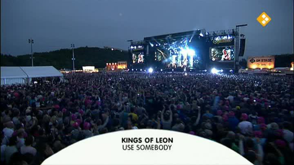 3 On Stage - Rest Of Pinkpop 2011