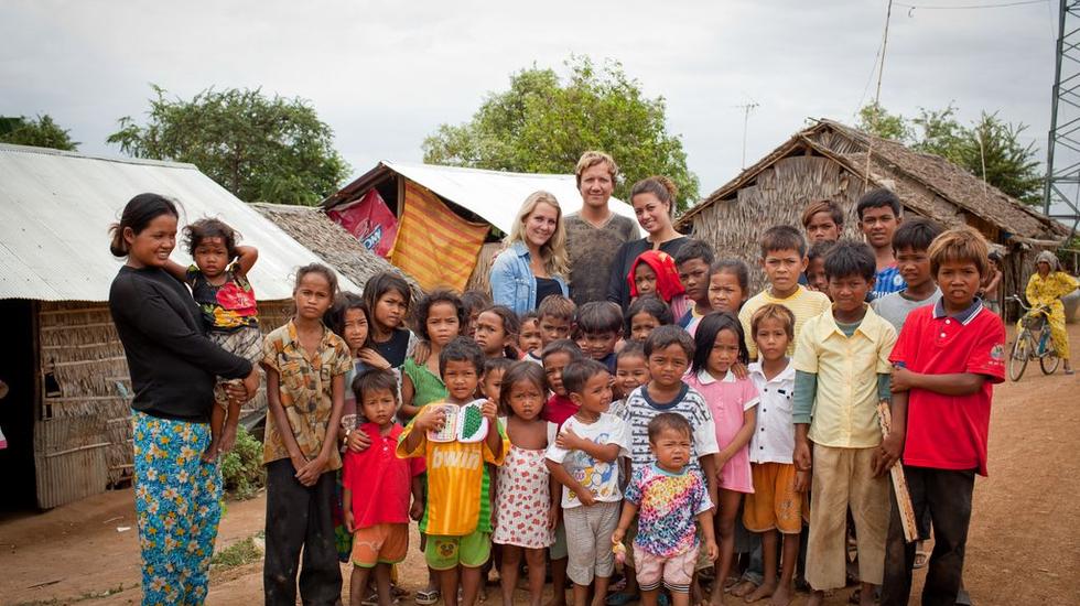 Bestemming Onbekend - Kimberley En Mandy In Cambodja