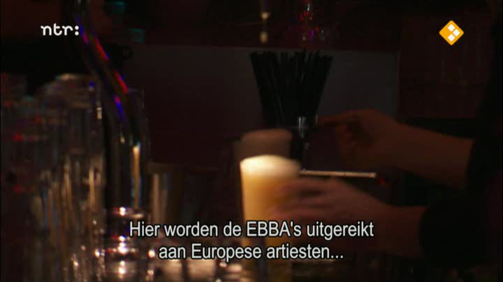 3 on stage: EBBA Awards 2012