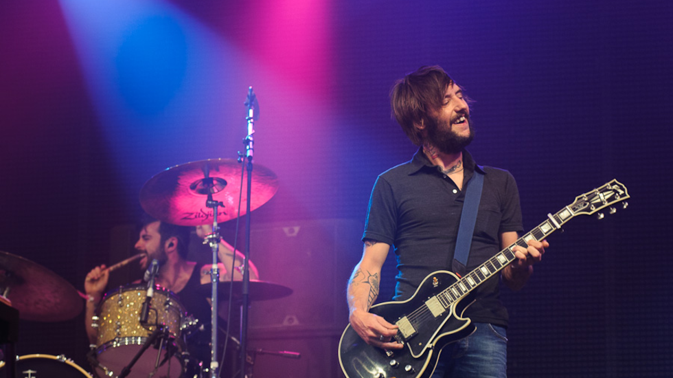 Band Of Horses - Funeral live op Pinkpop 2011