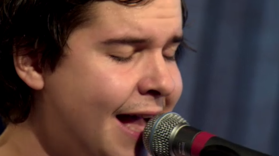 Lukas Graham 3 On Stage sessie op Eurosonic 15 januari 2014