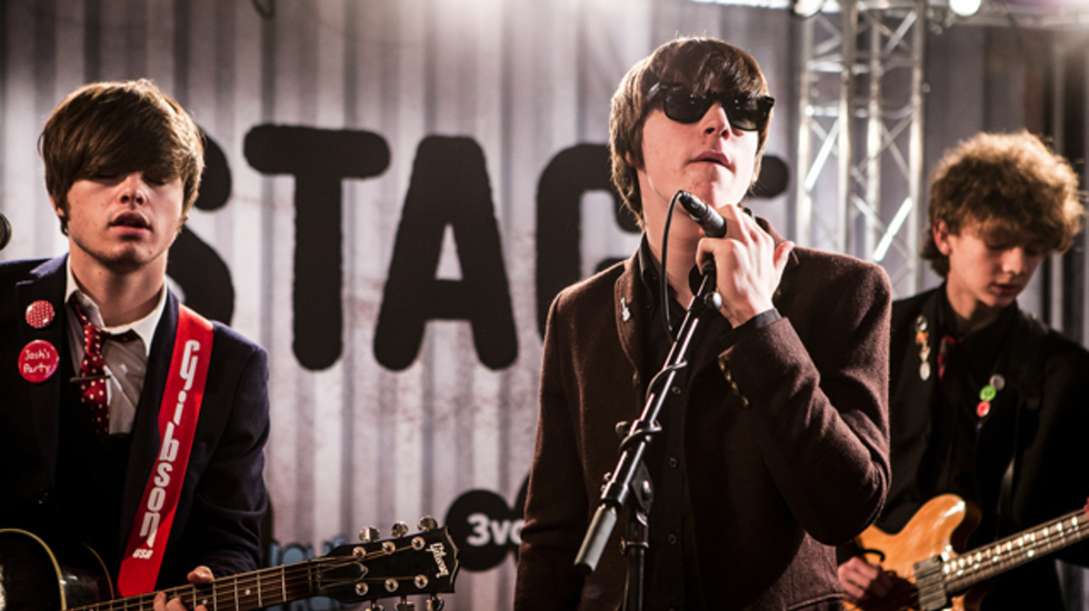 3 On Stage ESNS - The Strypes