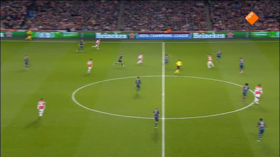 Nos Uefa Champions League Live - Nos Uefa Champions League Live, Wedstrijdanalyse Arsenal - Bayern München
