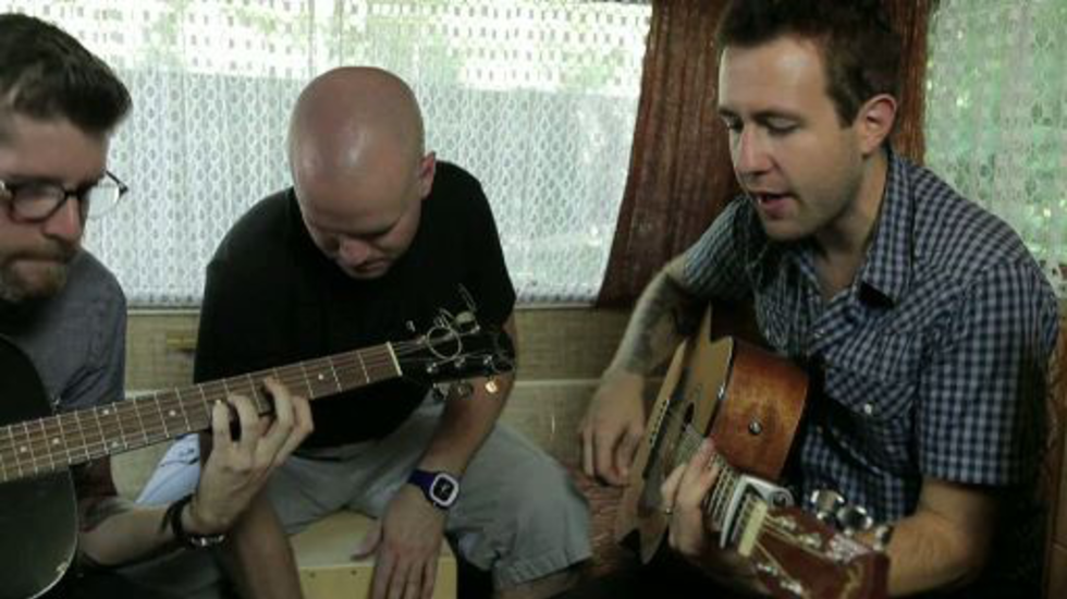 XNFF2012: Caravan session - Hawk Nelson