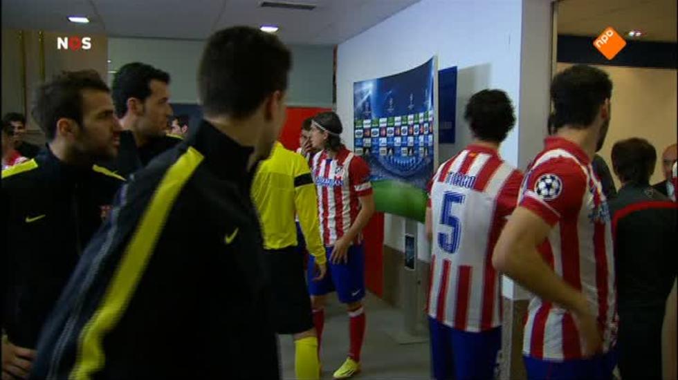 Nos Uefa Champions League Live - Nos Uefa Champions League Live, 1ste Helft Atlético Madrid - Fc Barcelona