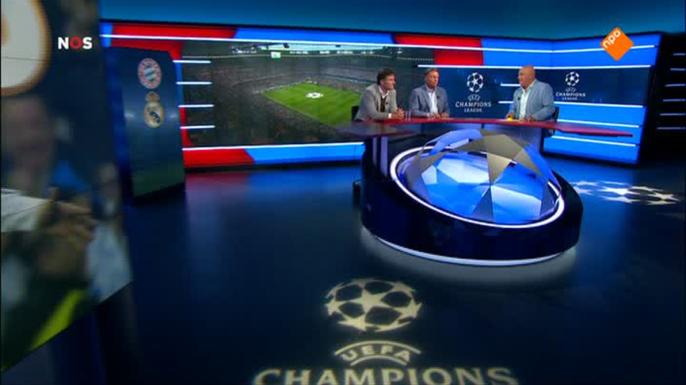 NOS UEFA Champions League Live, nabeschouwing Bayern München - Real Madrid