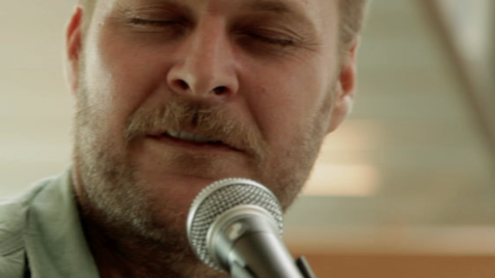 Hiss Golden Messenger sessie op Le Guess Who? Mayday 24 mei 2014