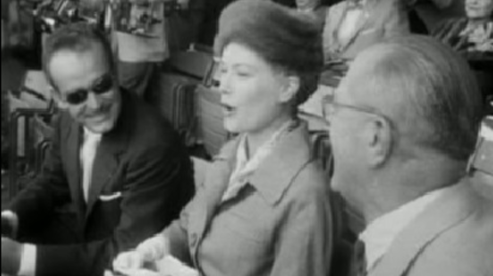 Polygoon Wereldnieuws, 26 september 1956