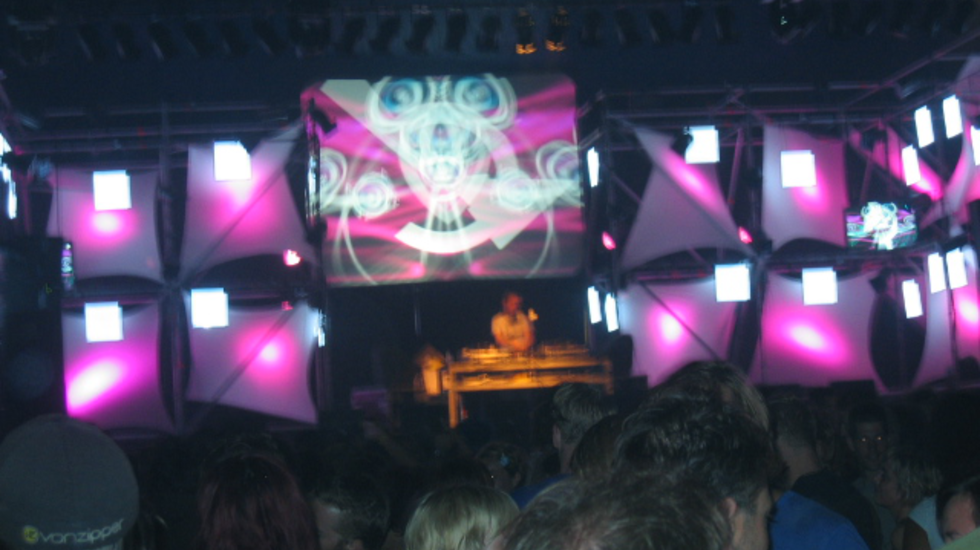 Michael Mayer DJ-set op Lowlands 2005