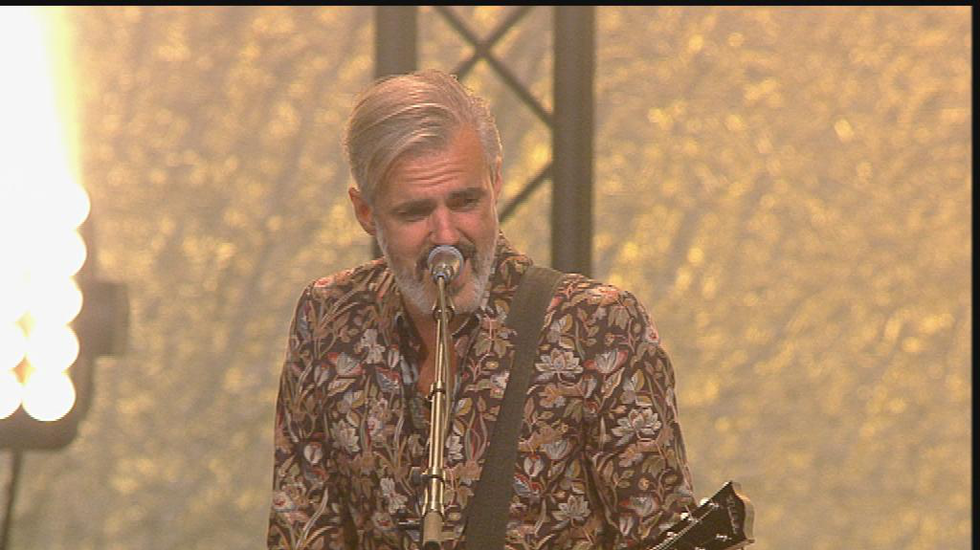 Triggerfinger momentje Dancing Around op Lowlands 2014