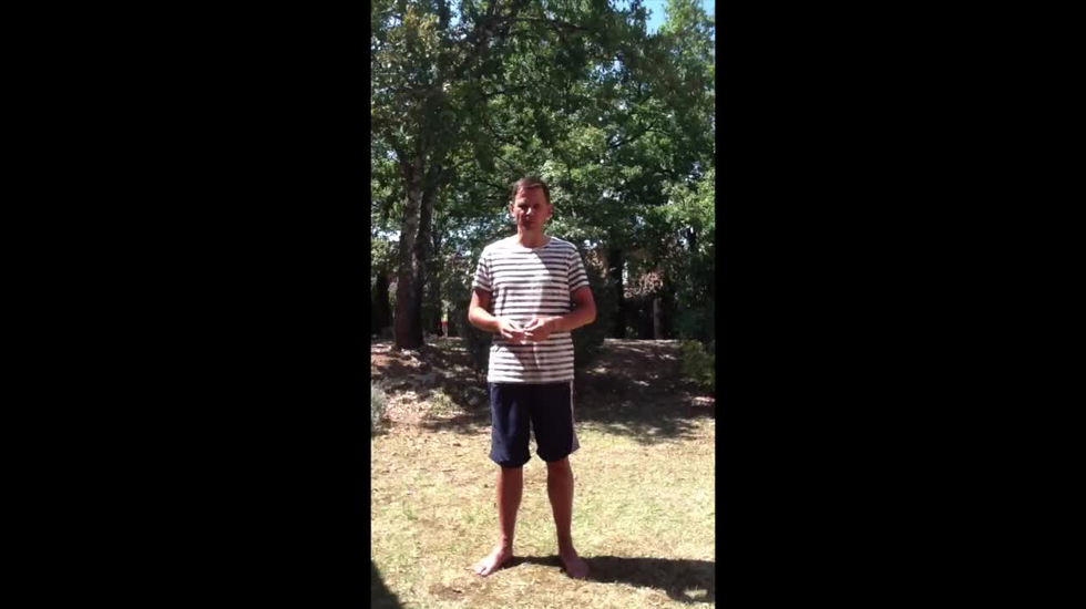 Ice Bucket Challenge door Andre Rouvoet
