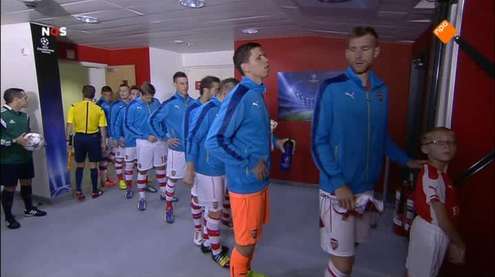 Nos Uefa Champions League Live - Nos Uefa Champions League Live, 1ste Helft Arsenal - Besiktas