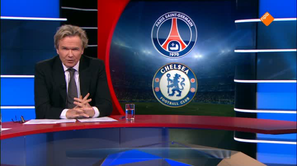 Nos Uefa Champions League Live - Voorbeschouwing Paris-saint Germain - Chelsea