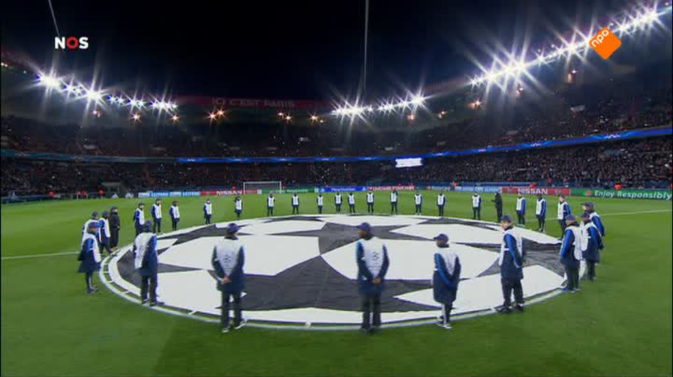 Nos Uefa Champions League Live - 1ste Helft Paris-saint Germain - Chelsea