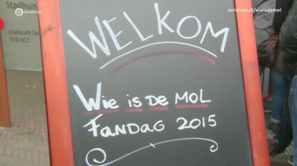 Wie is de Mol? Fandag 2015