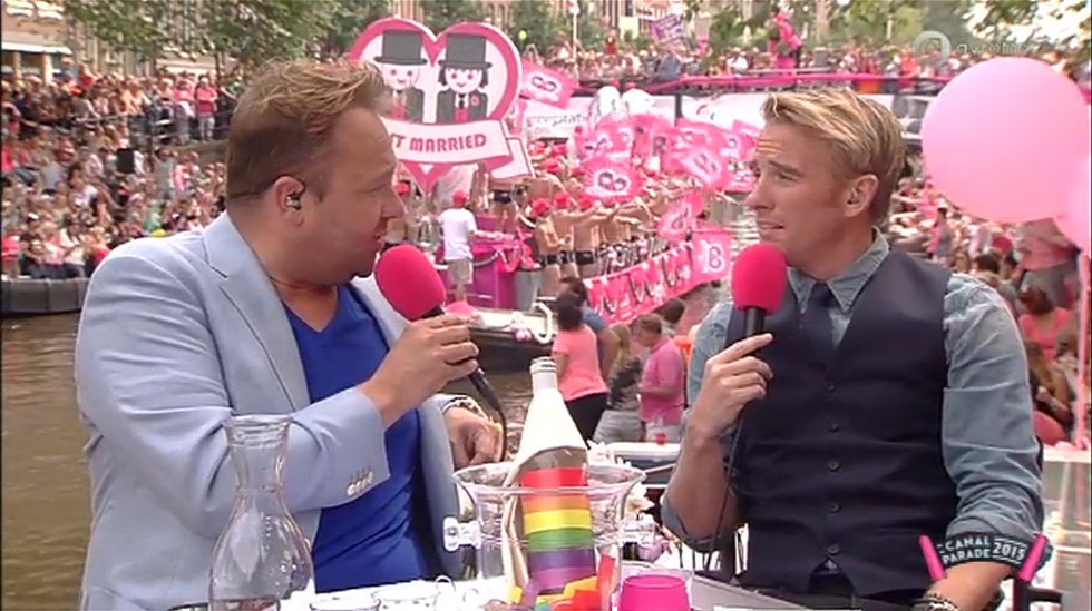 Registratie Gay Pride Canal Parade 2015