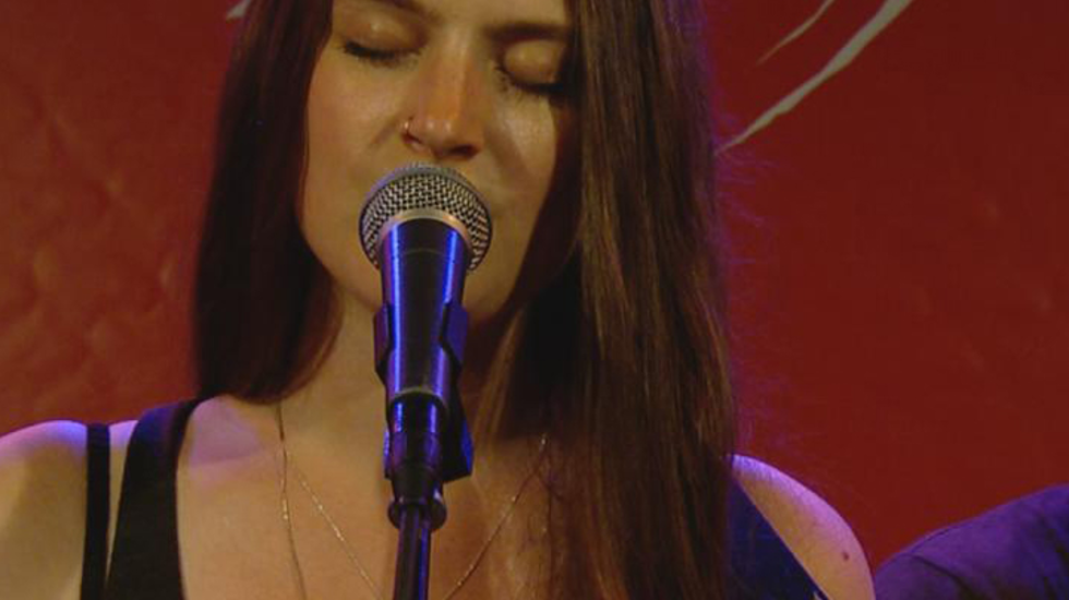 The Staves - 3fm On Stage sessie op Lowlands 2015