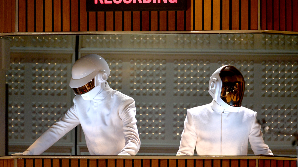 Daft Punk Unchained promo