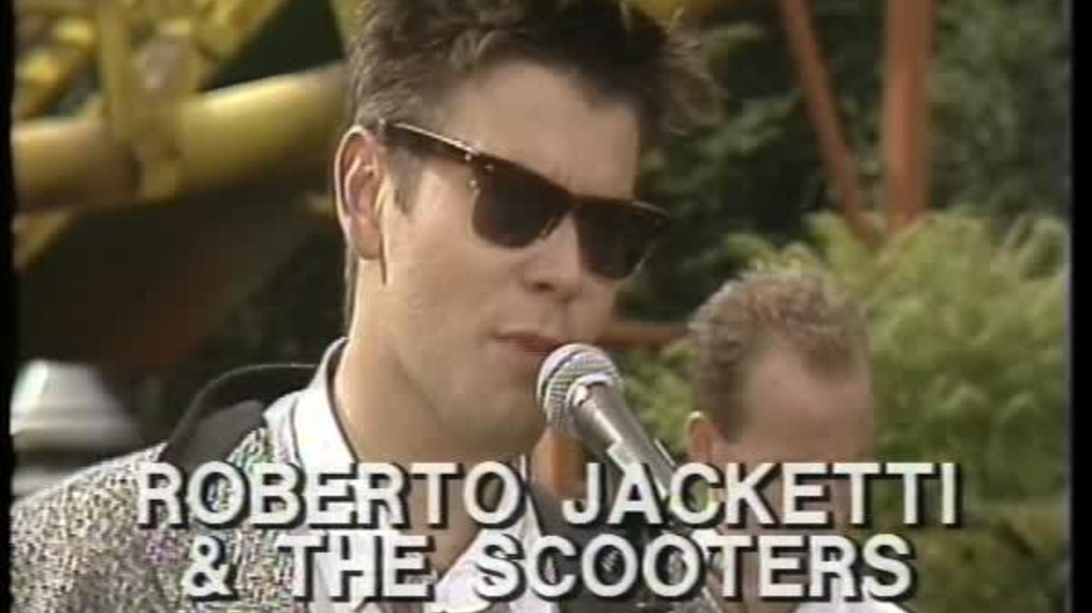 Roberto Jacketti en The Scooters - Love Cat