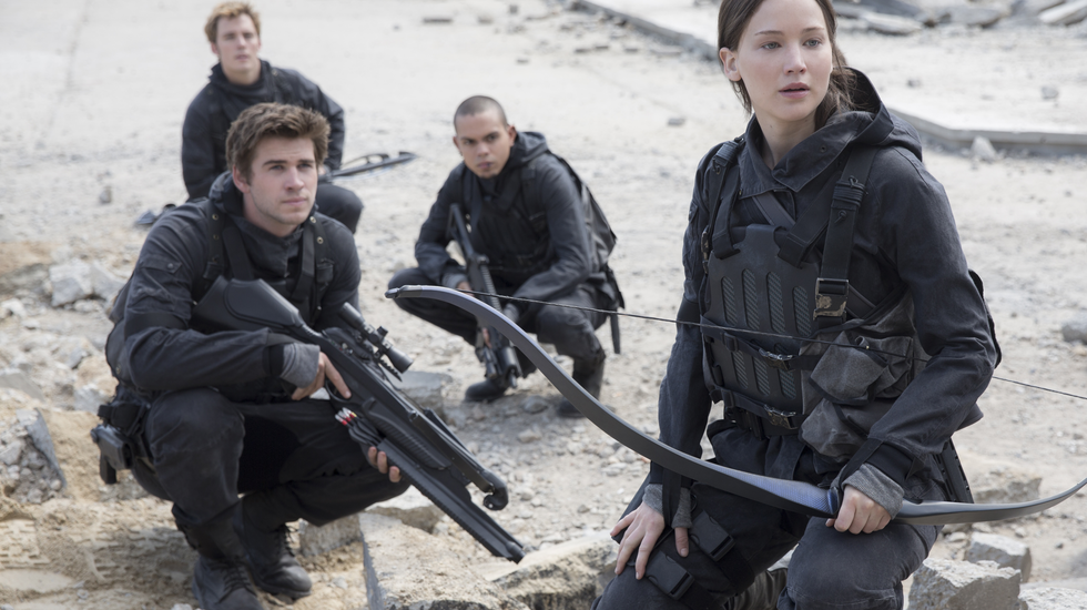 Je suis mort mais j'ai des amis, The Hunger Games: Mockingjay - Part 2