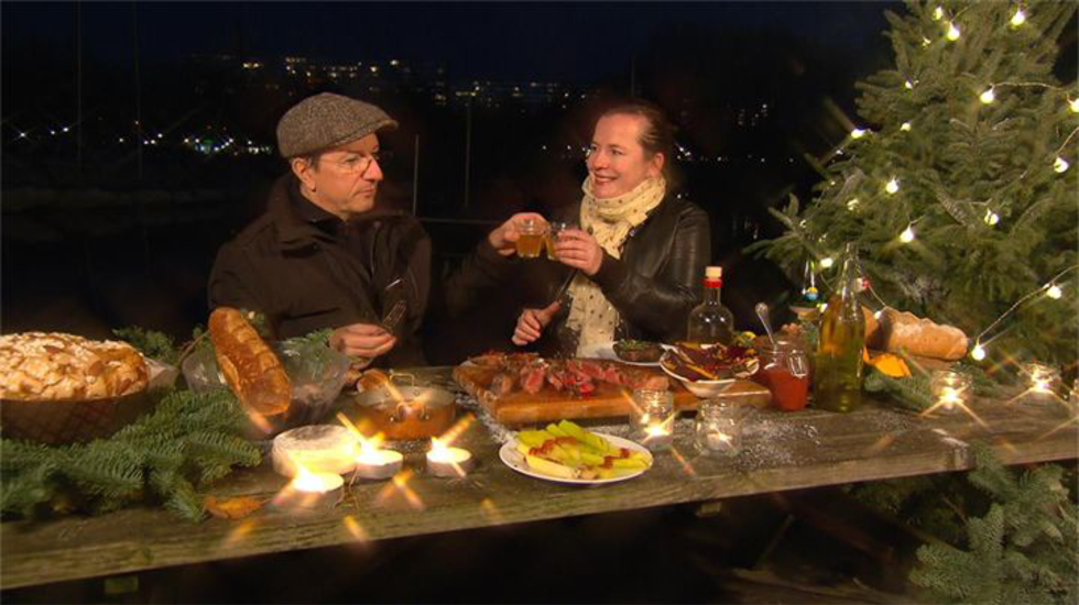 kerst-barbecue