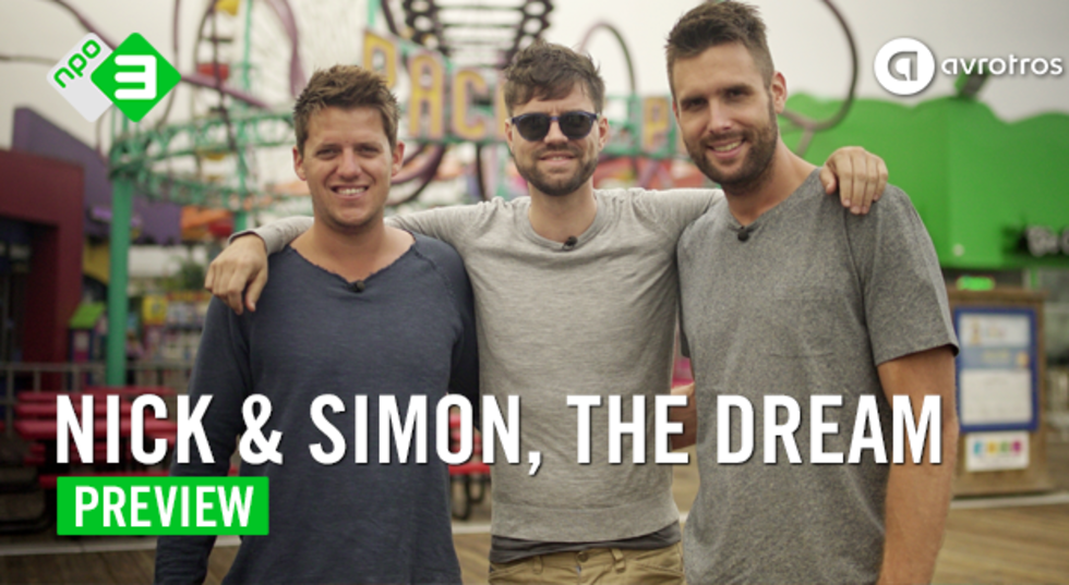 Nick & Simon, the Dream, vanaf woensdag 6 januari