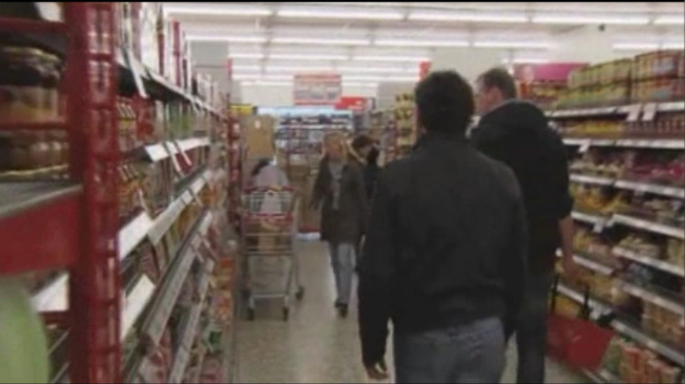 Fragment: Harrie en Adriaan in de supermarkt