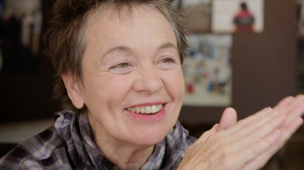 interview met regisseur Laurie Anderson