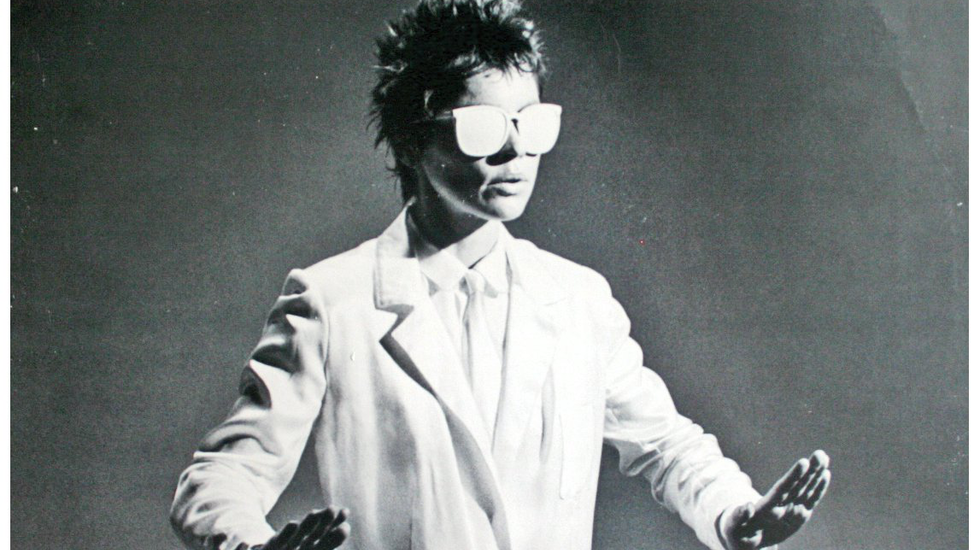 over Laurie Anderson