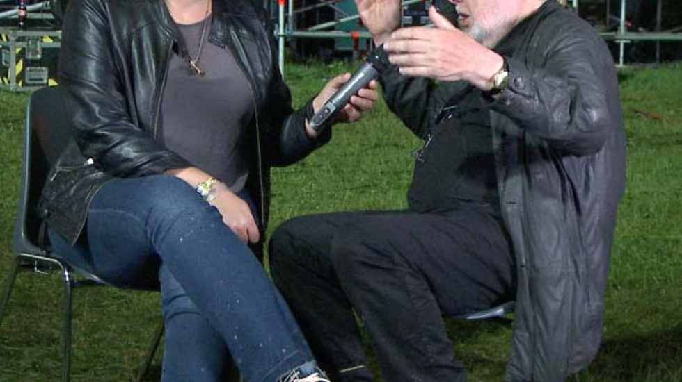Slot interview Jan Smeets op Pinkpop 2016