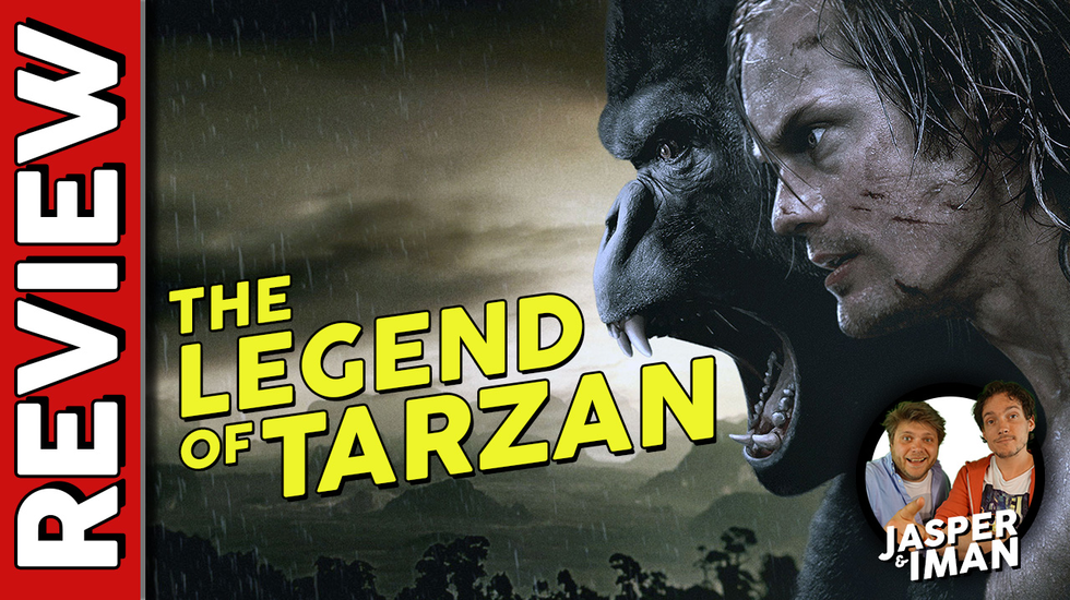 Afbeelding van Movie Idiots: The Legend of Tarzan Recensie