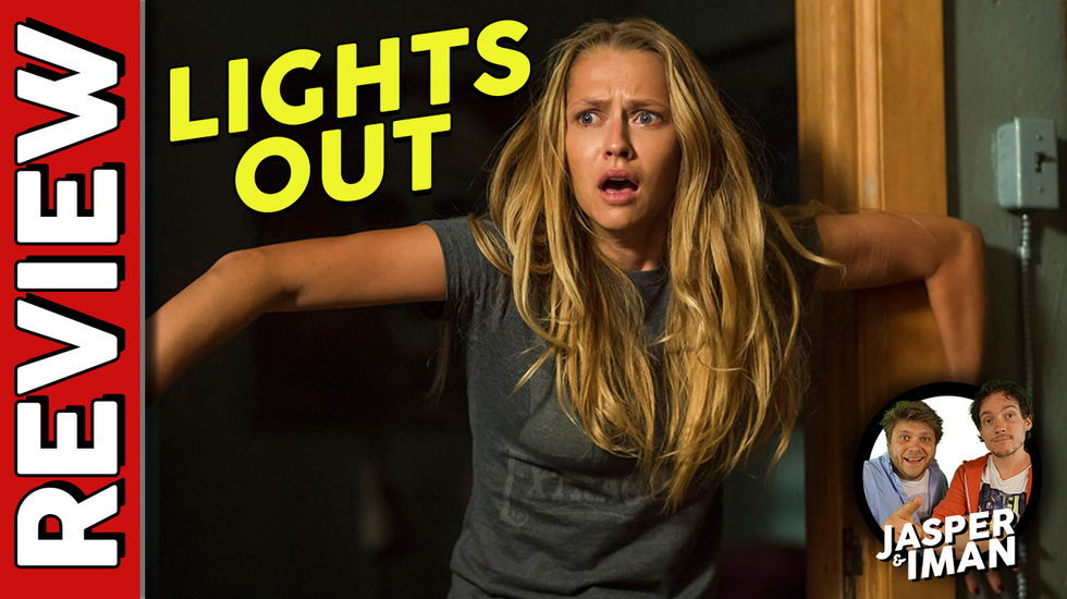Afbeelding van Movie Idiots: Lights Out Recensie
