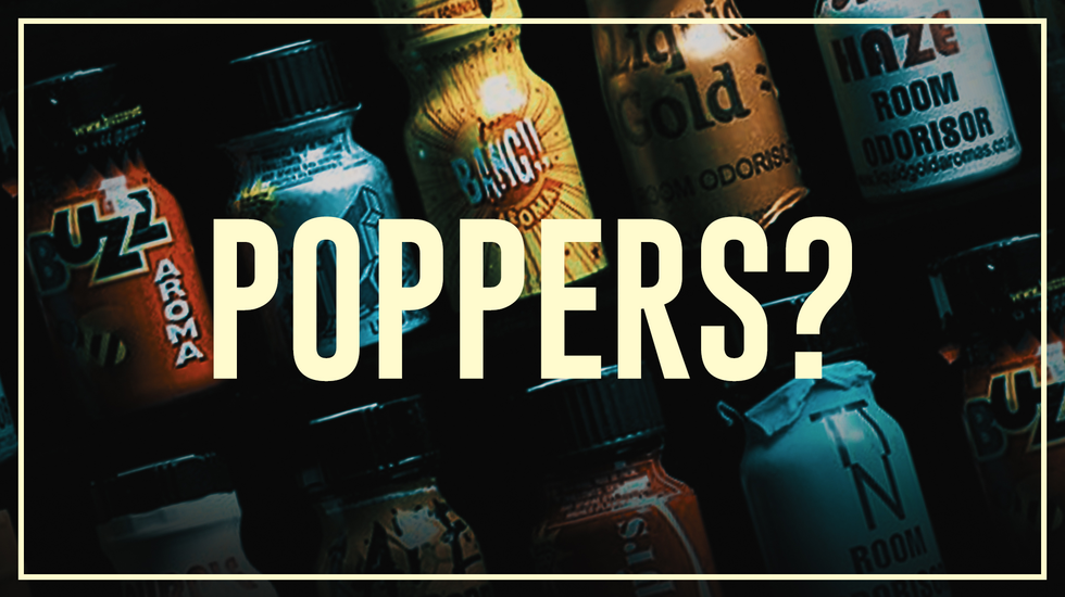 Drugslab AFL. 11A | Poppers - Do's en don'ts