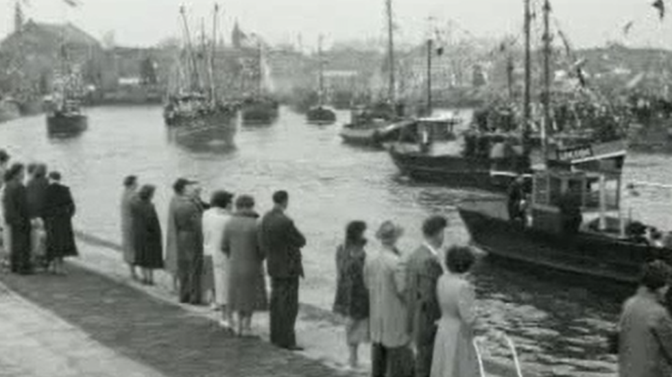Vlaggetjesdag in Urk