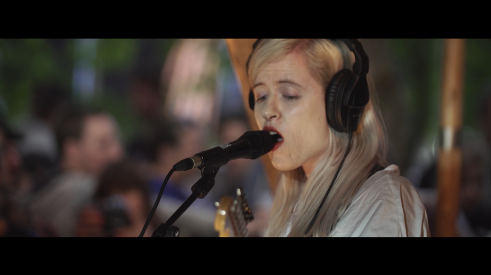 Amber Arcades - Session at Best Kept Secret 2017