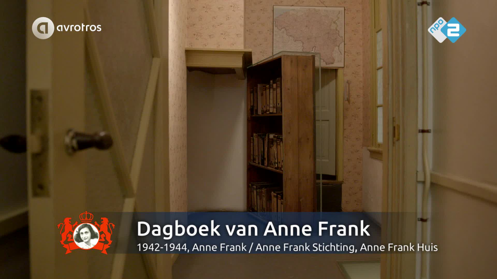 Video Pronkstuk - Dagboek van Anne Frank