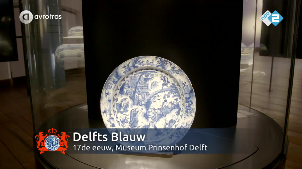 Video Pronkstuk - Delfts blauw schotel