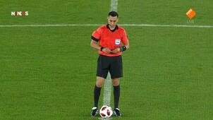NOS WK Voetbal clubteams eerste helft