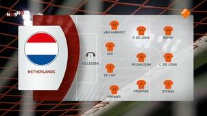 NOS Voetbal EK-kwalificatie Nederland