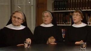 Sonja bij de nonnen