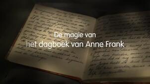 De magie van het dagboek van Anne Frank