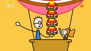 Tom en de boterham met aardbeienjam en honing
