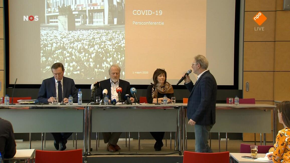 Nos Journaal - Seizoen 183 Afl. 3 - Nos Journaal: Persconferentie Rivm