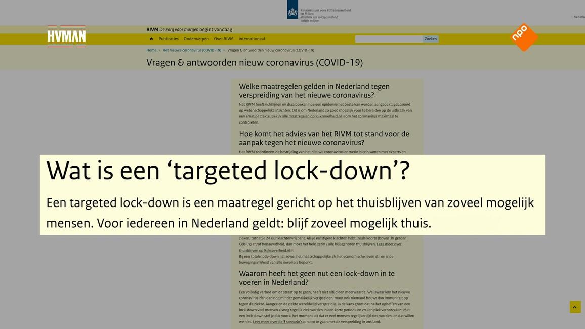 Medialogica Kort - Seizoen 2020 Afl. 5 - Intelligente Lockdown: Slim Beleid Of Eerder Een Politiek Behendigheid?