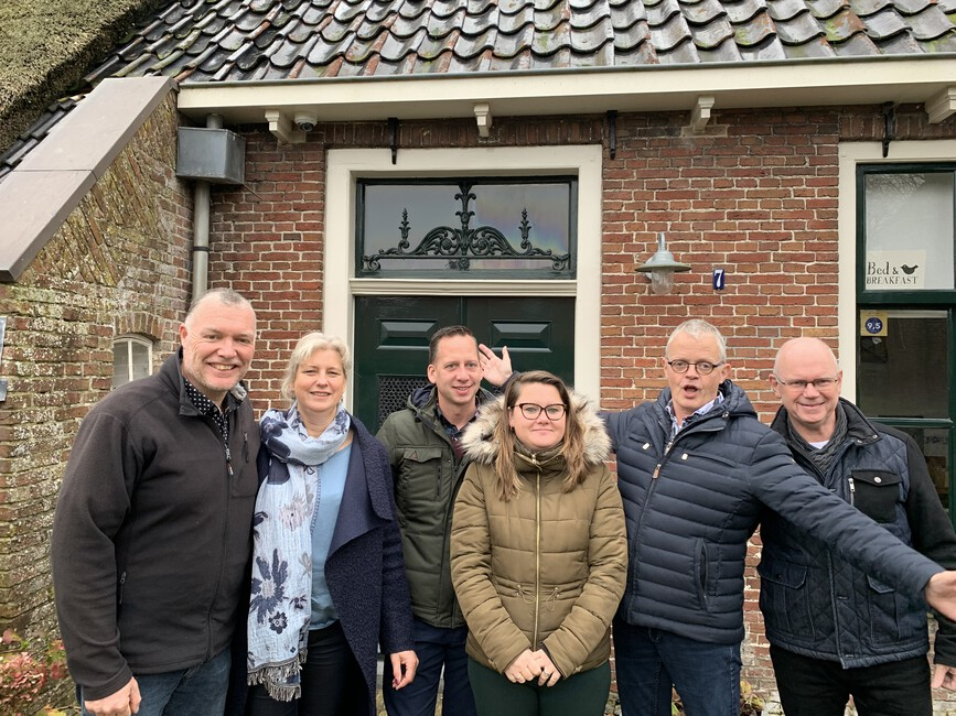 Bed & Breakfast Seizoen 12 Afl. 4 - Noord-Holland, Drenthe en Friesland