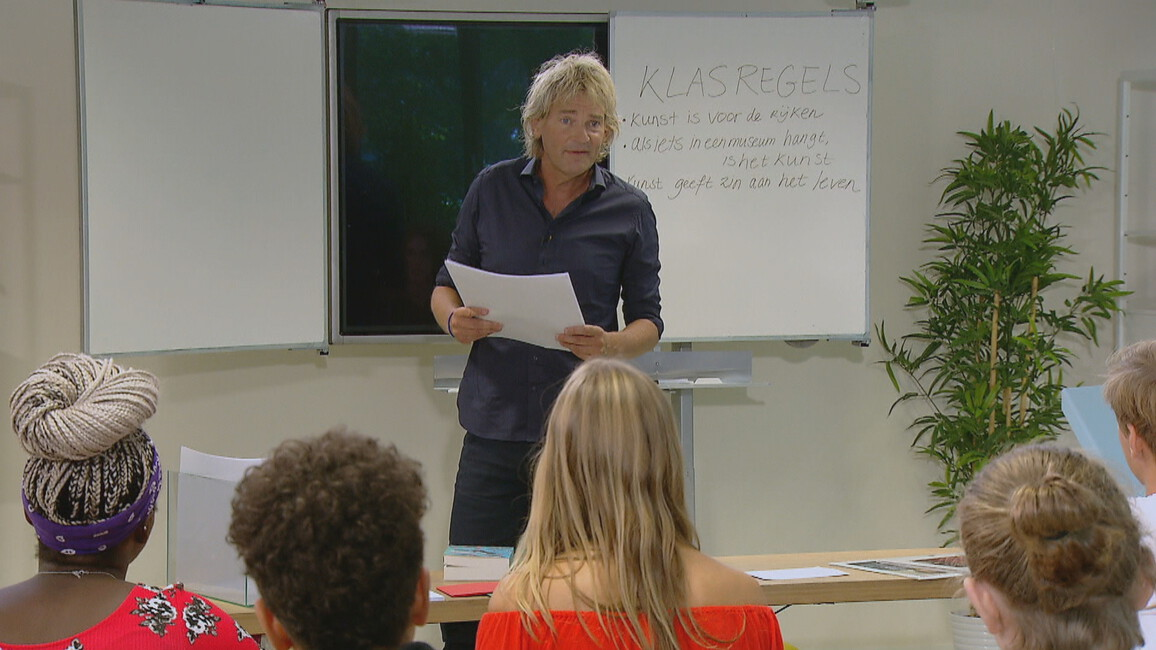 De Klas - Seizoen 2 Afl. 1 - Matthijs Van Nieuwkerk