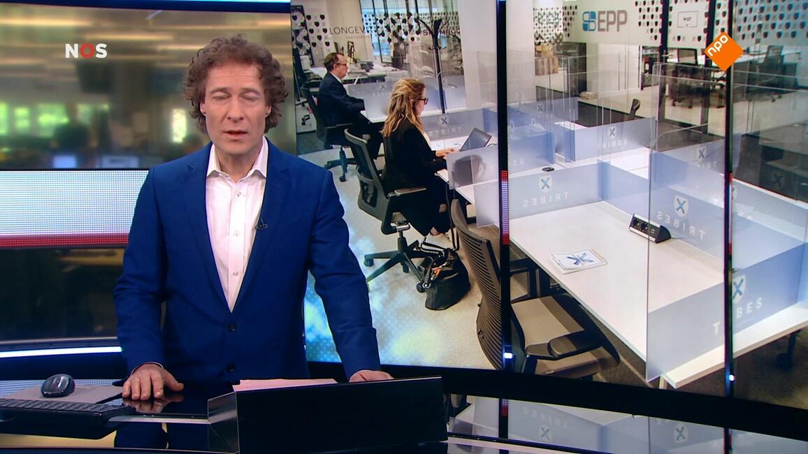 NOS Journaal 13.00 uur (Nederland 2) Seizoen 156 Afl. 96 - NOS Journaal