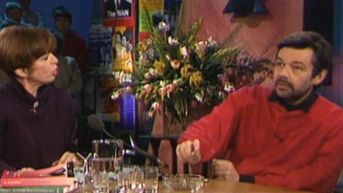 Sonja op donderdag Seizoen 1 Afl. 1 - Maarten van Rossem en Nelly Frijda