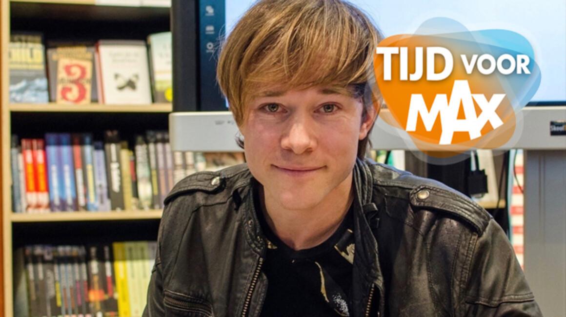 Tijd Voor Max - Seizoen 2020 Afl. 106 - Boekenrubriek Met Bestsellerauteur Thomas Olde Heuvelt